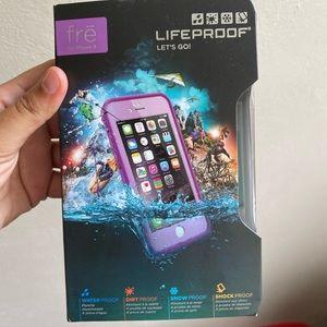 Lifeproof iPhone 6 case - purple